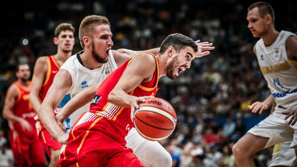 Ucrania – España. (@baloncestofeb)