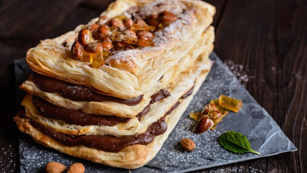 Receta De Hojaldres Con Mascarpone Y Chocolate