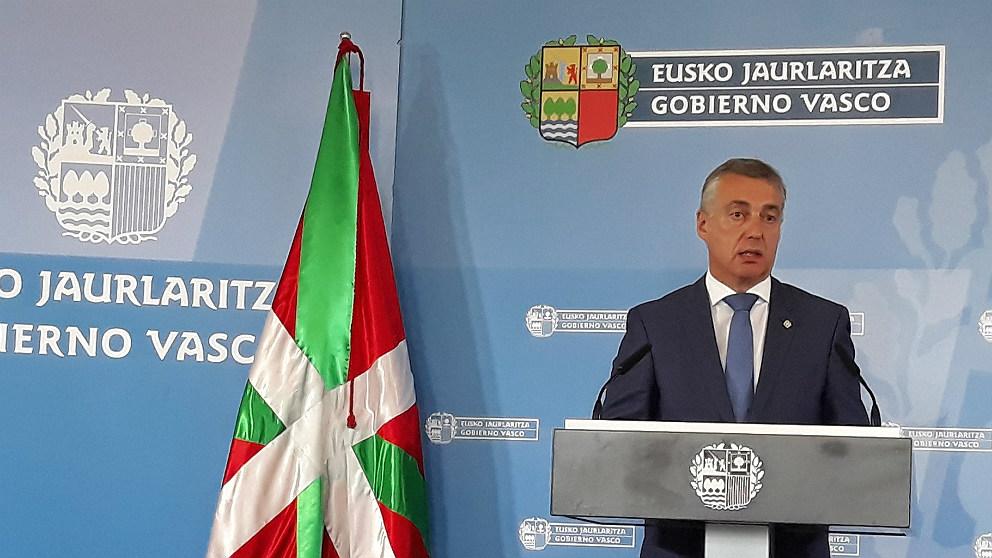 Iñigo Urkullu, lehendakari del Gobierno  vasco. (EP)