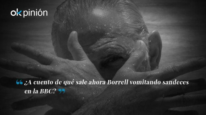 Borrell destapa su lado festivo