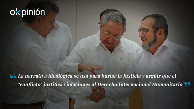 Colombia: cambiar la falsa narrativa por la legalidad