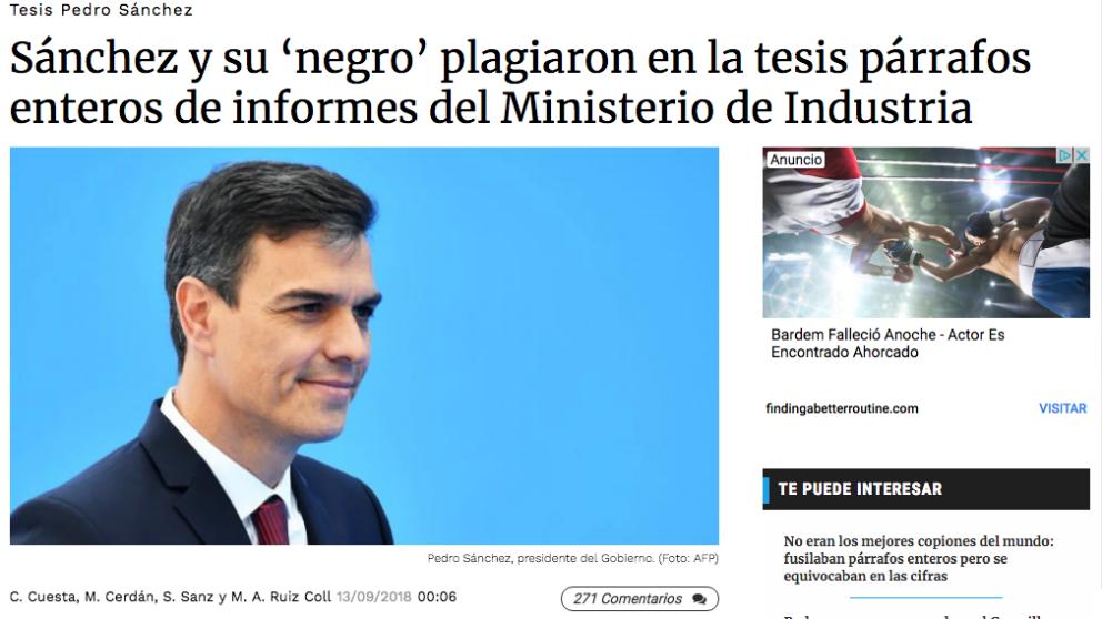 Sánchez exige a OKDIARIO que se retracte de esta información