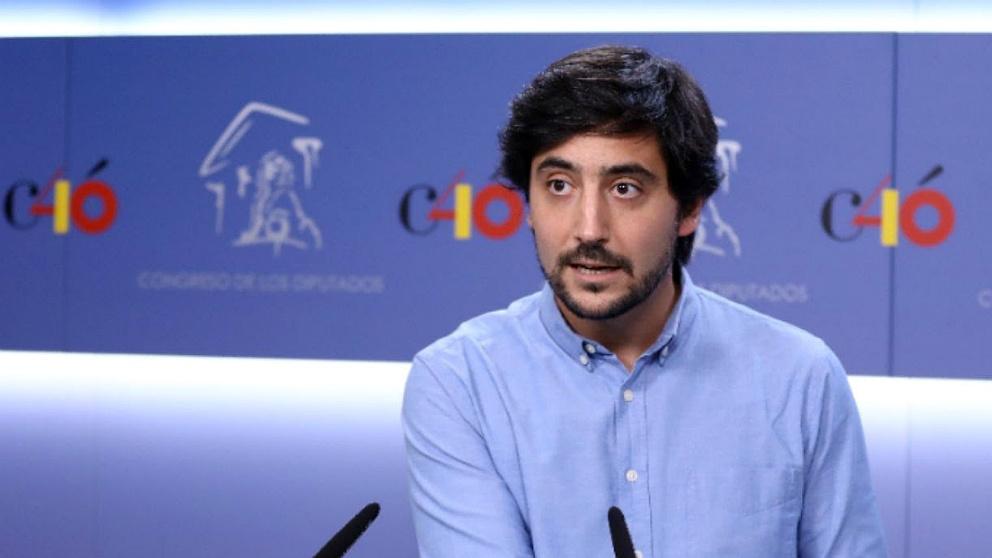 Toni Roldán, portavoz de Economía de Ciudadanos en el Congreso. (Foto: EP)
