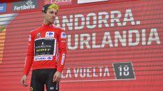Clasificación tras la etapa 19 de la Vuelta a España hoy, 14 de septiembre. (AFP)