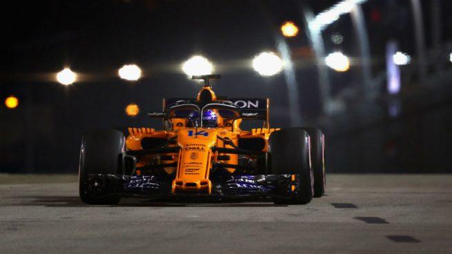 Resultado de imagen de Fernando Alonso singapur 2018