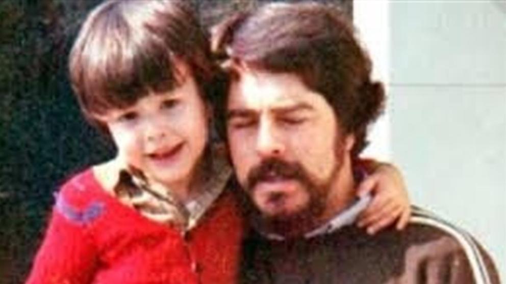 José Miguel Cedillo con su padre, Antonio Cedillo Toscano, policía asesinado por ETA.