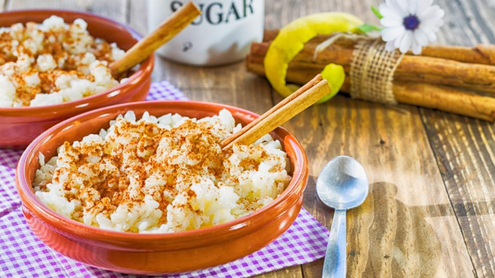 Receta de arroz con leche y castañas fácil de preparar