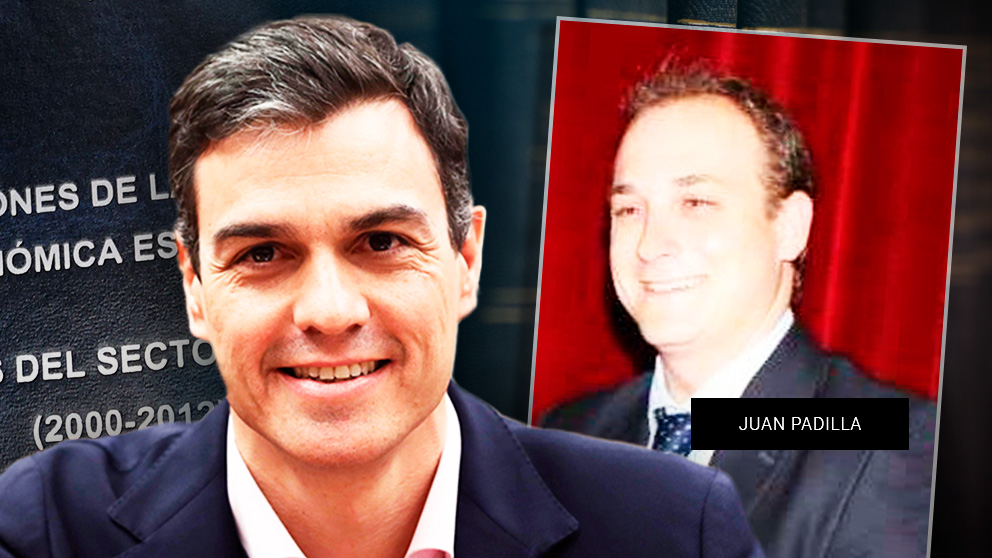 Sánchez y el miembro del tribunal Juan Padilla.
