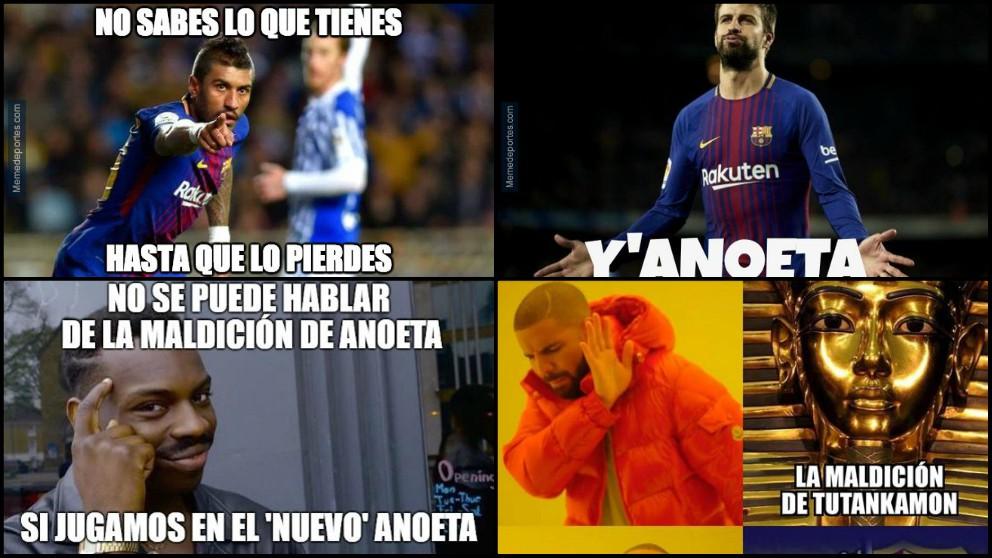Los mejores memes del Real Sociedad – Barcelona.