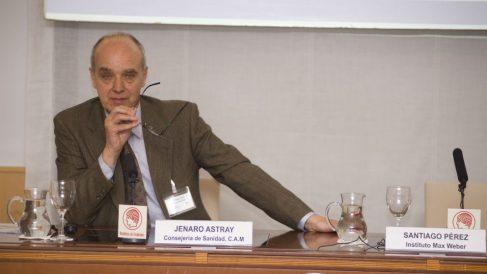 Santiago Pérez Pérez-Camarero fue el secretario del tribunal de la tesis de Sánchez. (Foto: fgcasal.org)