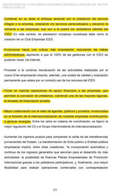 Sánchez fusiló en 'su' tesis de 2012 extractos enteros de un discurso del ministro Sebastián en 2011