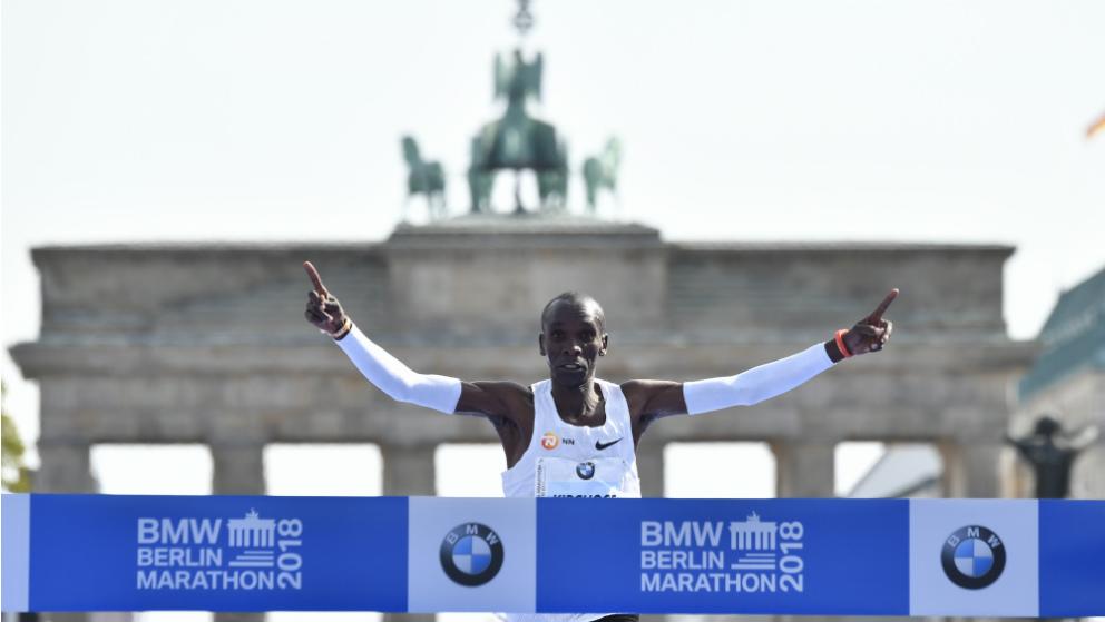 Nuevo récord mundial en el Maratón de Berlín. (AFP)