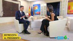 El presidente del Gobierno en su entrevista de este domingo en La Sexta