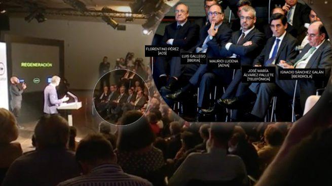 Indignación entre los empresarios del Ibex porque Sánchez los colocó en una esquina en Casa América