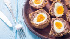 Receta de albóndigas rellenas de huevos de codorniz