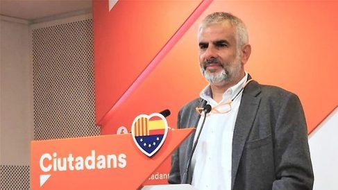 Carlos Carrizosa, portavoz de C's en el Parlament. (EP)