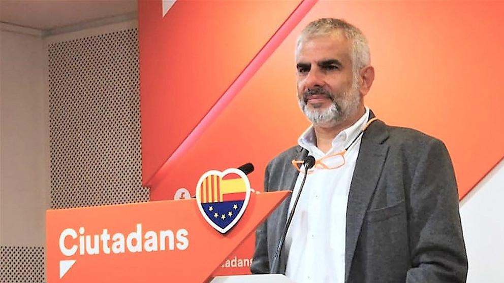 Carlos Carrizosa, portavoz de Cs en el Parlament (Foto: EP).