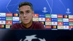 Coutinho debutará este martes con el Barcelona en Champions League. (AFP)