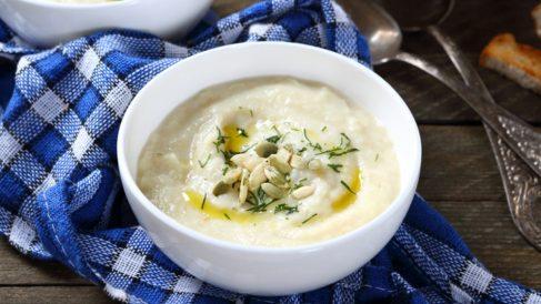 Receta de crema de castañas con queso fácil de preparar