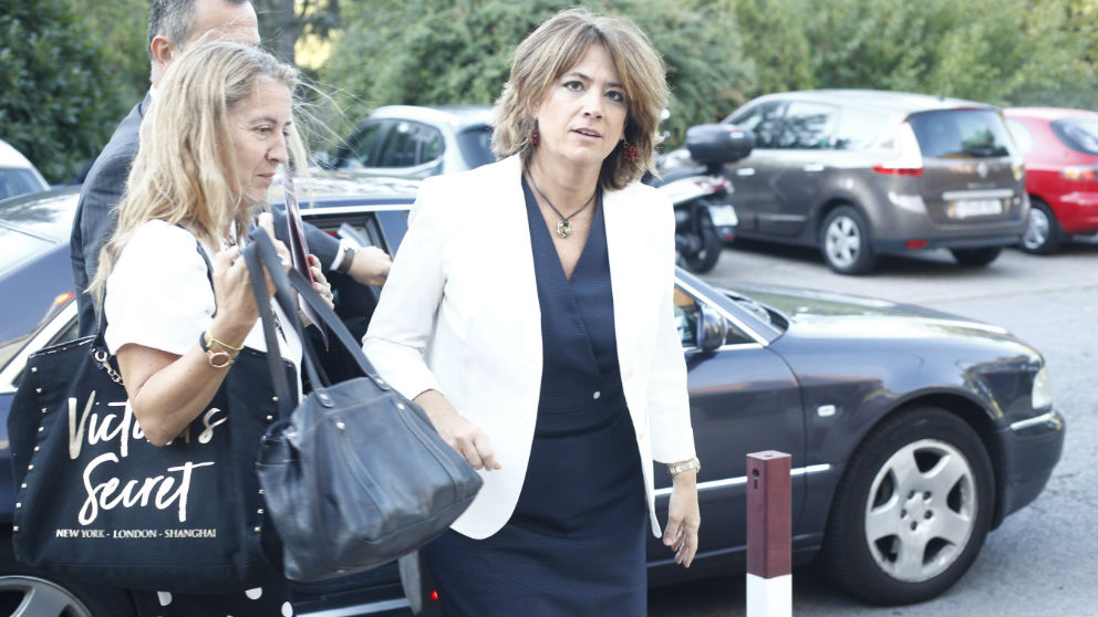 La ministra de Justicia, Dolores Delgado en una imagen de archivo (Europa Press)