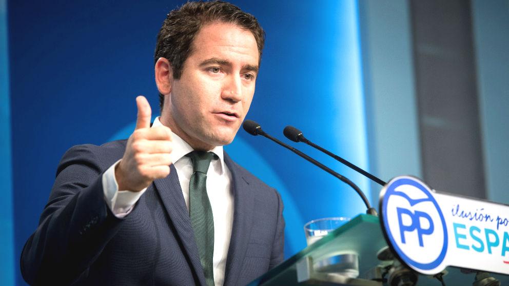 El secretario general del PP, Teodoro García Egea (Foto: Efe)