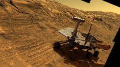 Esperando al rover Opportunity de Marte