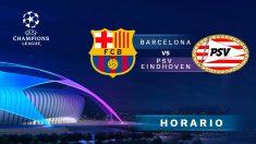Champions League 2018-19: Barcelona – PSV | Horario del partido de fútbol de la Champions League.