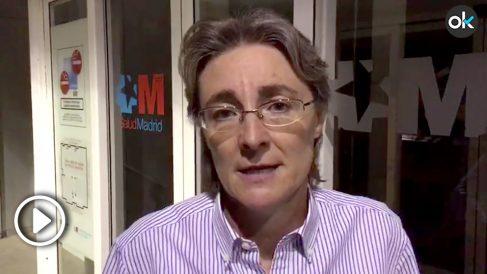 Marta Higueras atiende a OKDIARIO. Imagen: Francisco Toledo
