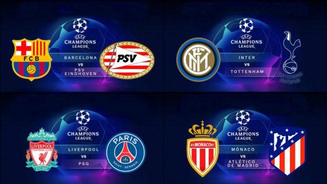 partidos de la champions league del 18 de septiembre