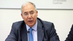 El presidente de la Conferencia de Rectores de las Universidades Españolas (CRUE), Roberto Fernández. (EP)