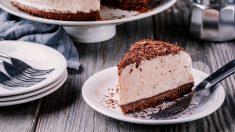Receta de cheesecake de galletas oreo y coco sin horno