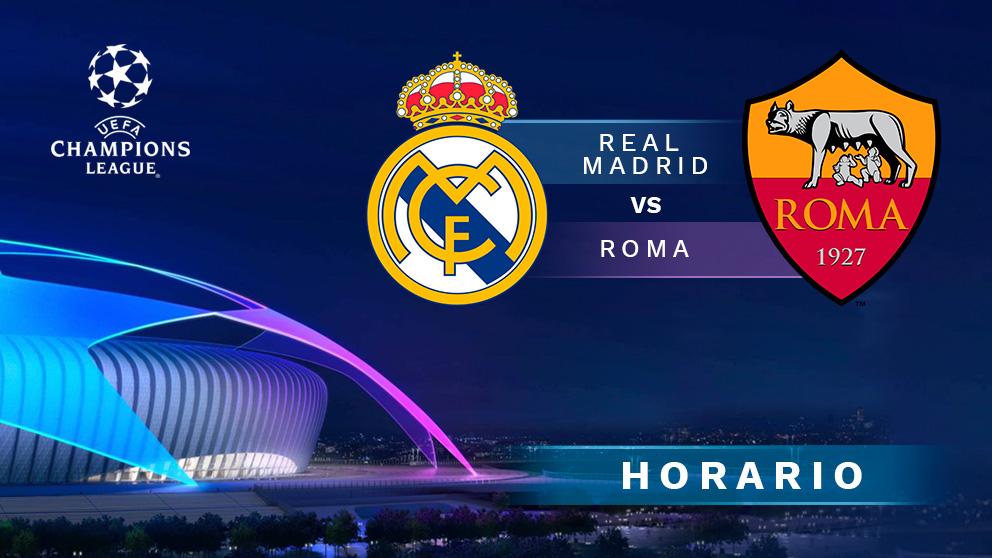 Real Madrid Vs Roma Donde Ver