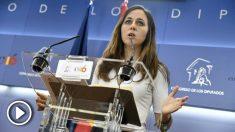 Ione Belarra, portavoz de Podemos en el Congreso. (EP)
