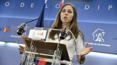 Ione Belarra, portavoz adjunta de Unidos Podemos en el Congreso de los Diputados. (Foto: EFE)