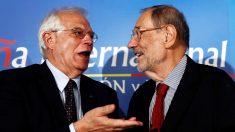 Josep Borrell y Javier Solana. (Foto: EFE)