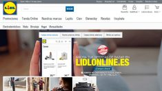Página web de LIdl (Foto: Lidl)