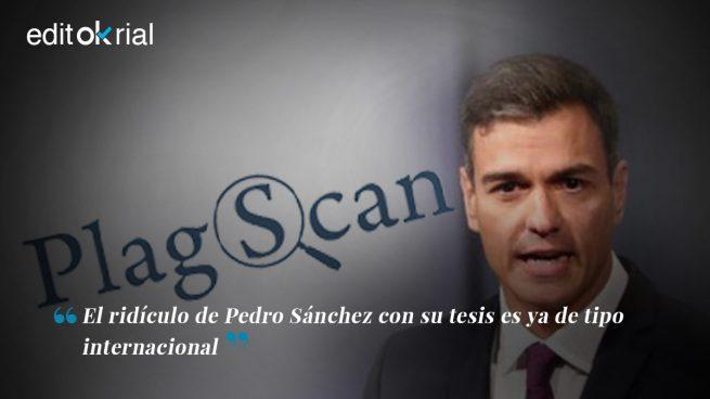 Sánchez no puede comprar a los alemanes de PlagScan
