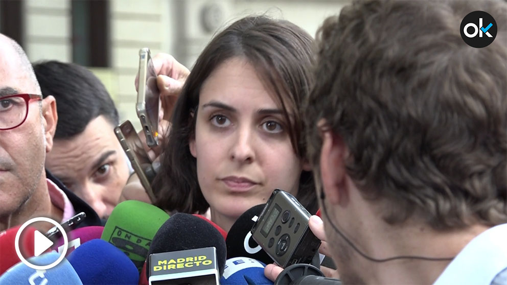 Rita Maestre confirma que hay un obrero fallecido.