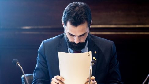 Roger Torrent, presidente del Parlament de Cataluña. (Foto: EFE)