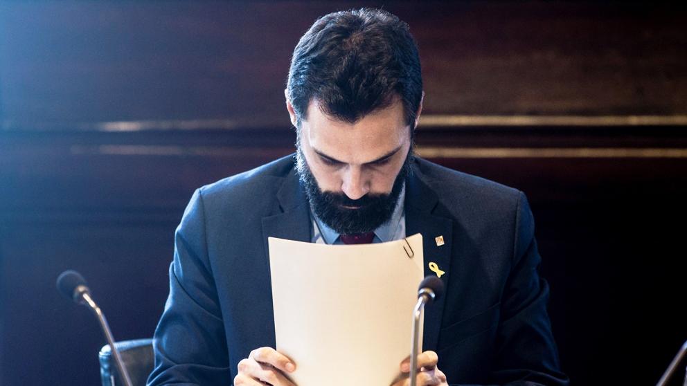 Roger Torrent, presidente del Parlament de Cataluña. (Foto: EFE)