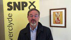 Ronnie Cowan, diputado independentista escocés del SNP en Westminster. (TW)