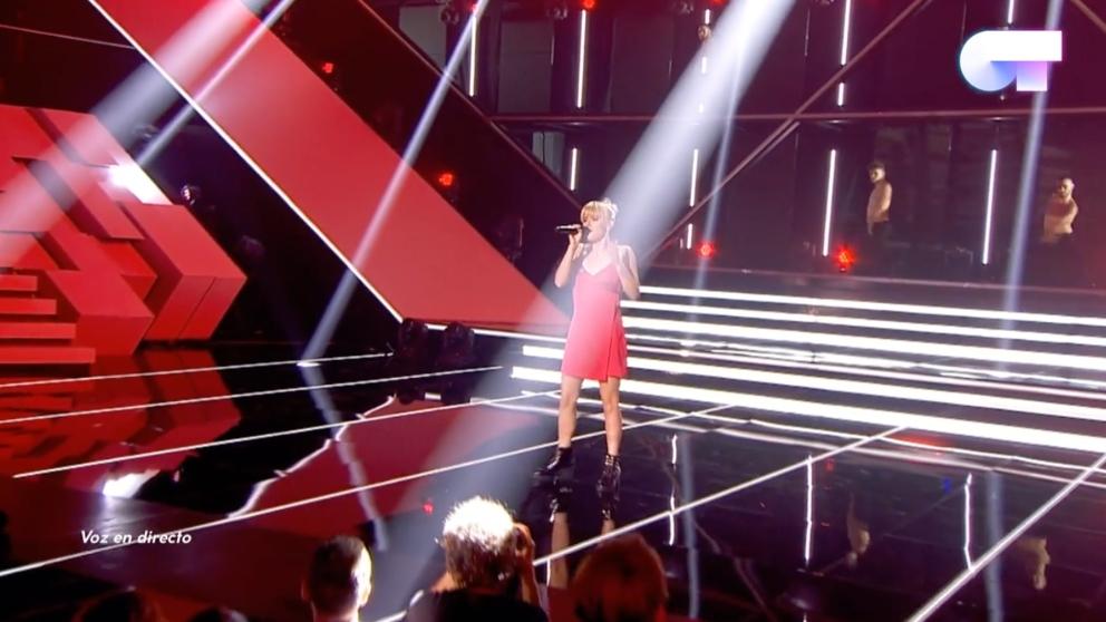 Alba Reche en su primera actuación de 'OT 2018'