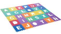 Una alfombra abecedario es perfecta para los más pequeños de la casa