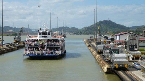 El canal de Panamá fue una obra increíble.