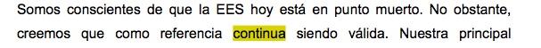 El verbo continúa escrito sin tilde en la tesis doctoral de Pedro Sánchez.