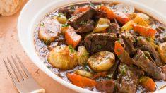 Receta de Estofado de buey picante fácil de preparar