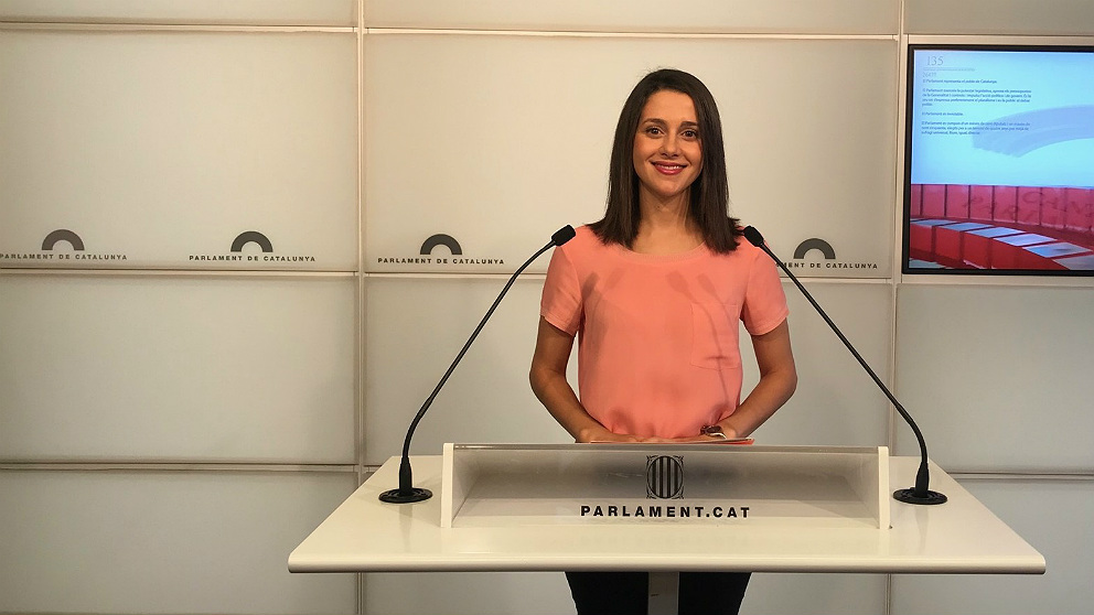 Inés Arrimadas, líder de C's en Cataluña. (EP)