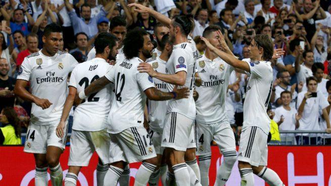 El Real Madrid fue una metralleta: remató ¡30 veces! a portería