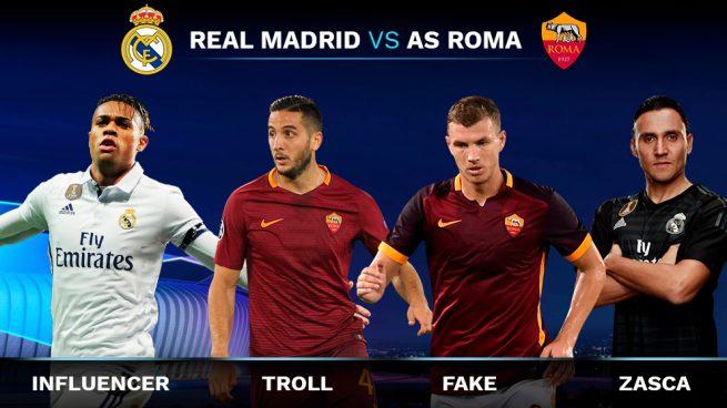 Los trending topics del Real Madrid – Roma