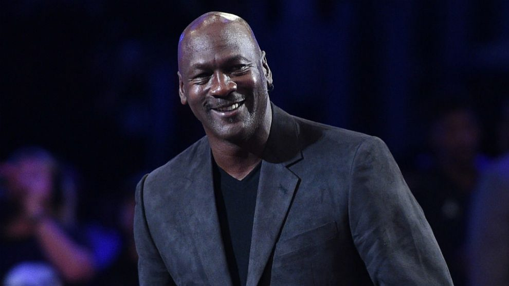 Michael Jordan, en un evento reciente. (AFP)